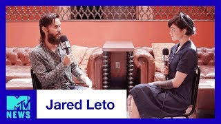 Jared Leto Talks Thirty Seconds to Mars, 'Walk on Water' & VMAs | MTV News Mp3