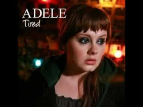 Adele Tired Instrumental Lyrics