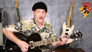 Pipeline Guitar Lesson - Intro Riff & Rhythm