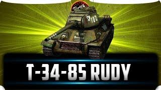 Т-34-85 Rudy WoT Blitz
