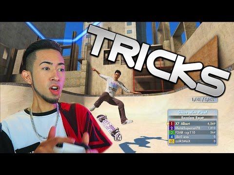 Skate 3 Xbox One: RANKED SPOT BATTLE!   Skate 3 Sick Tricks 🎮
