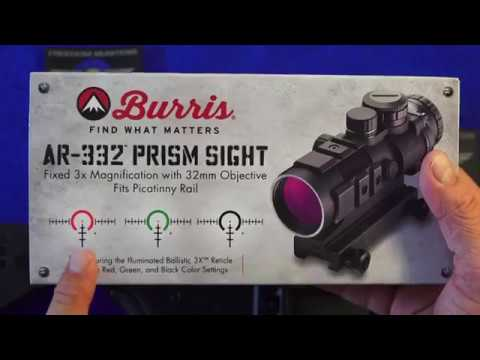 Burris AR-332 3x Prism Sight Review - YouTube 3a68b08c53f9