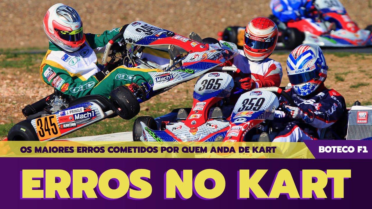 Os 3 ERROS mais COMUNS do KART | com @Pista & Pilotagem 🏎❌😬