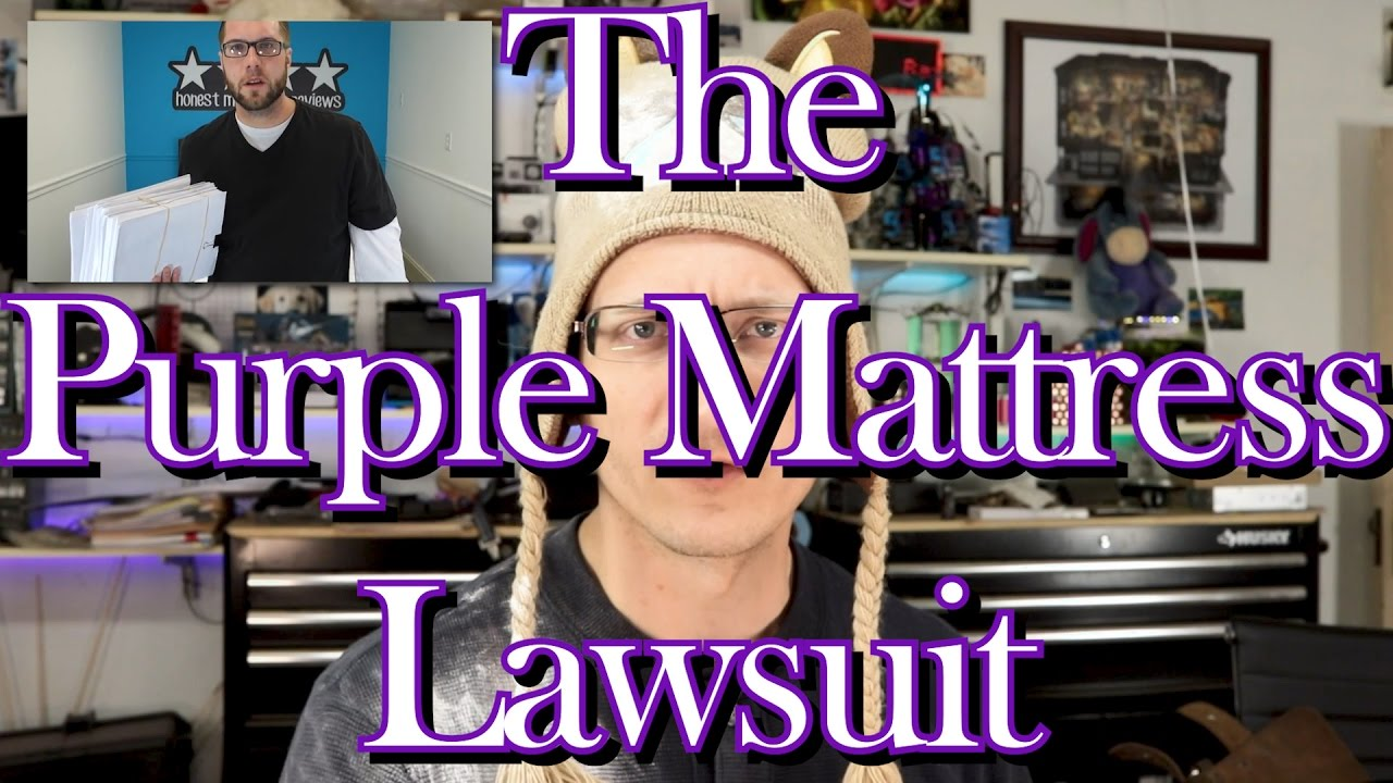 purple mattress lawsuit over not so honest review youtube. Black Bedroom Furniture Sets. Home Design Ideas