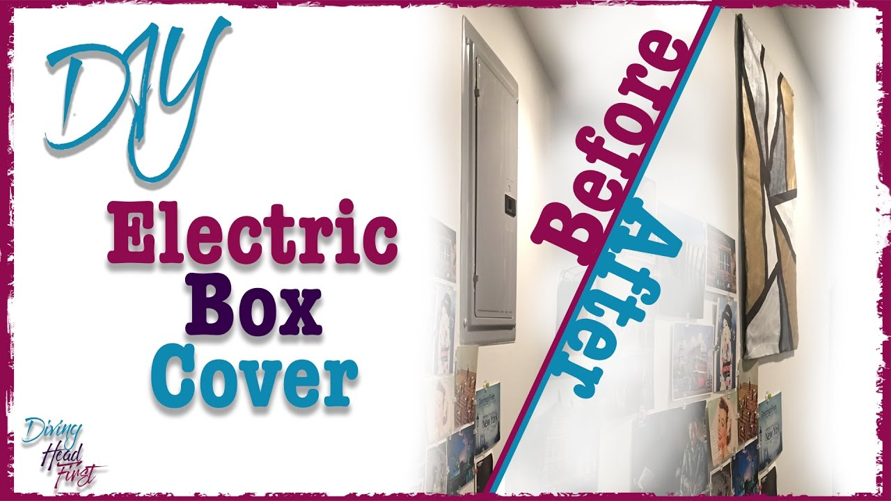 electric box cover diy diving head first [ 1280 x 720 Pixel ]