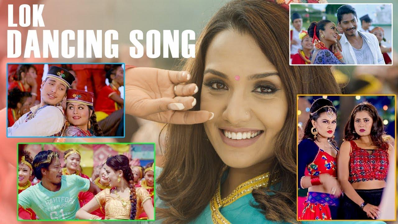 Download Top Nepali Movie Lok Dancing Songs (Top 15) | Video JukeBox | Highlights Music