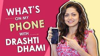 Drashti Dhami What's On My Phone | Phone Secrets Revealed