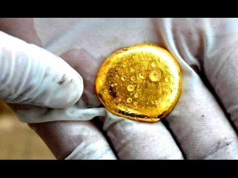 How gold melting crucible for Melting Gold furnace Hand made process. How To Make Gold scrap Melt.