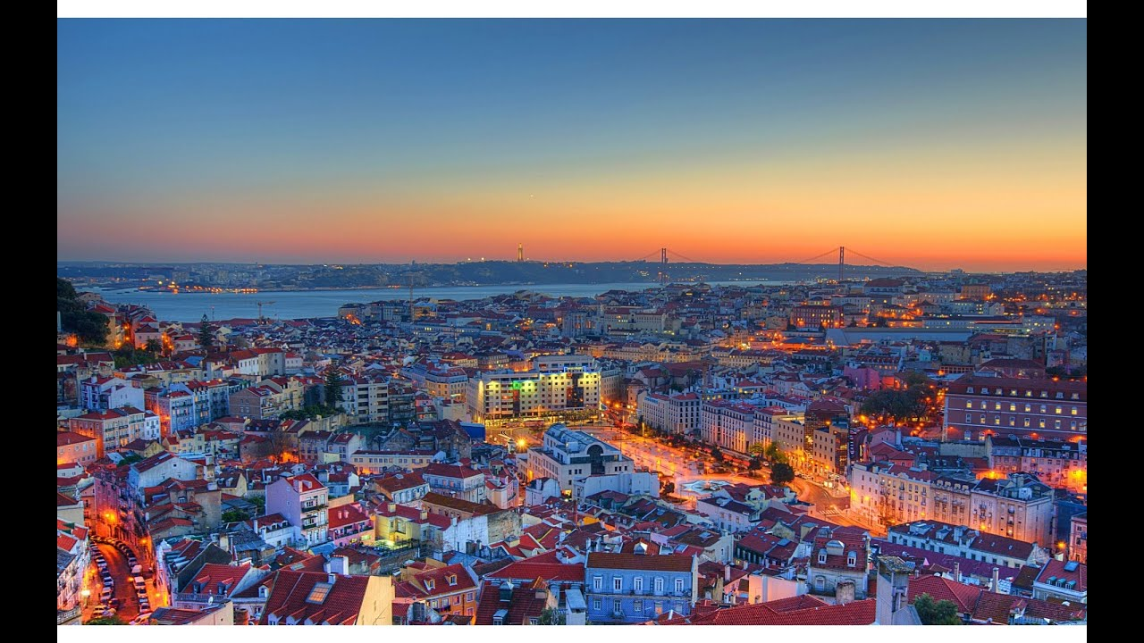 Lisbon Take Off - Incredible City View From Sky