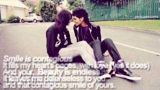 Contagious Smile - Kolohe Kai [lyrics on screen]