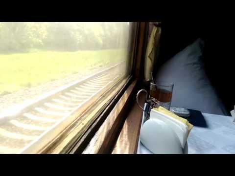 Засыпай под звук колёс поезда.