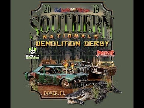 Southern Nationals Demolition Derby 2019