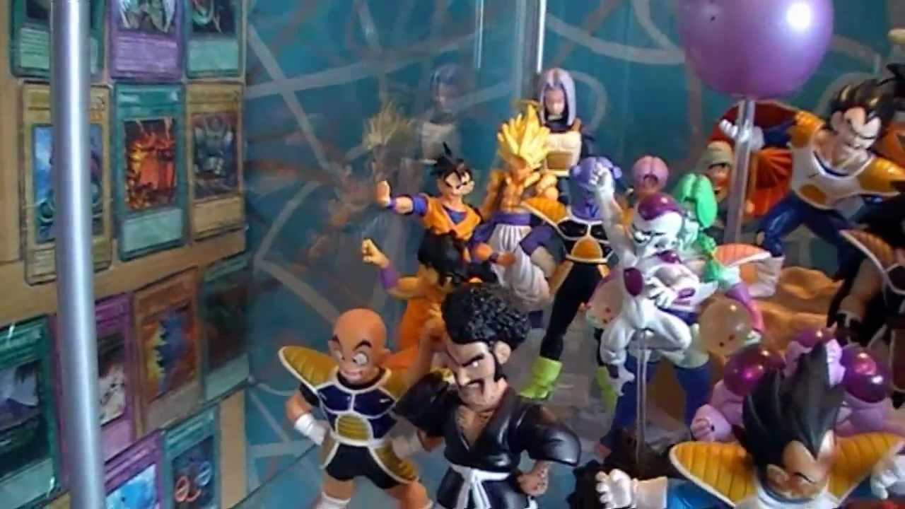 collection 745 figurines dragon ball z youtube