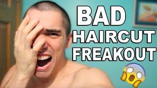 Cutting My Own Hair Fail | Freakout Video
