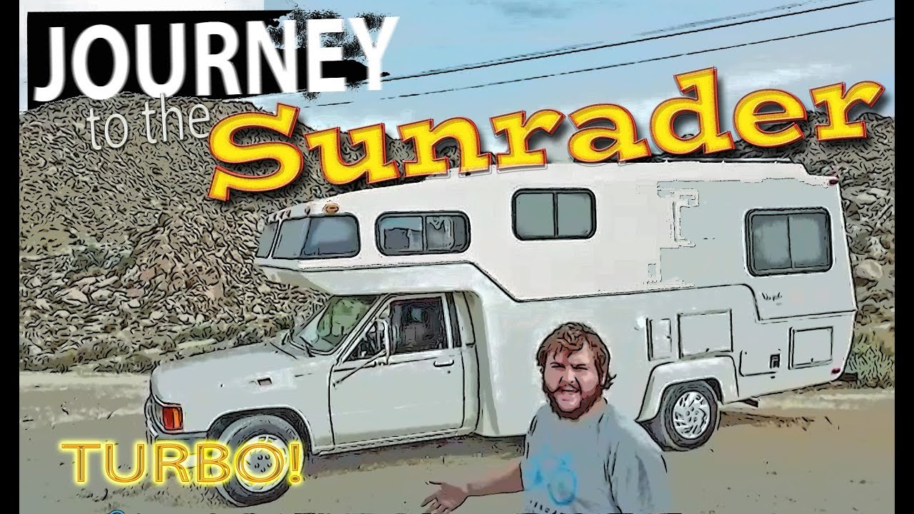 Buying a motorhome I had never seen - Toyota Sunrader - Episode 1