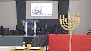 Prof. Denise AO VIVO - EBD As Orações dos Santos No Altar Do Senhor