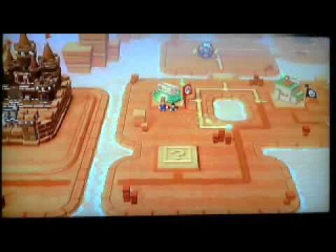 Super Mario 3D world: Dessert Situation (World 4)