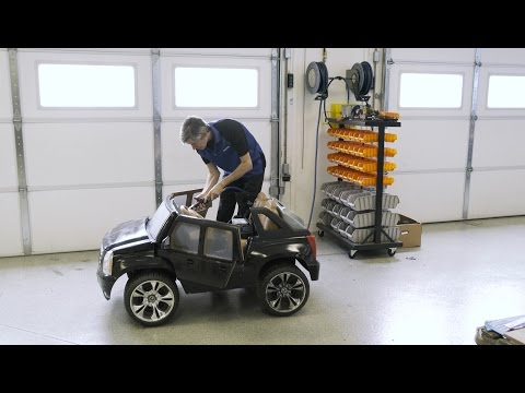 Installing A Stereo And Speakers In A Power Wheels Cadillac Escalade | Crutchfield Video