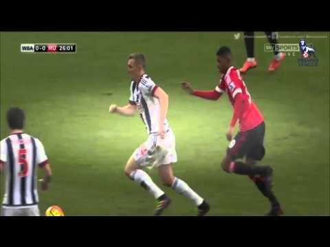 West Bromwich Albion vs Manchester United 1 - 0  2016~Highlights & Full Match (6.3.2016)