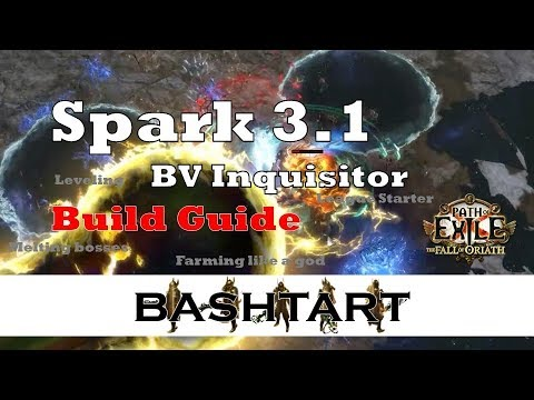 [3 1] Spark BV Inquisitor * farming like a god :) * PoE Build Guide