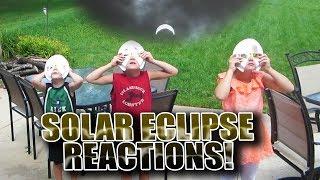 KIDS REACT TO SOLAR ECLIPSE 2017!