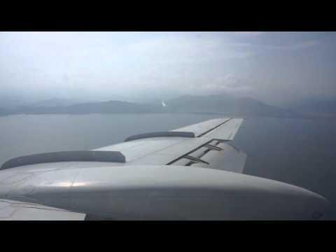 North Korean Tupolev 134B landing to Wonsan-Kalma Airport, inaugural flight of Air Koryo