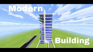 How To Build a Modern Building in Minecraft