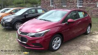 2017 Chevrolet Cruze LT Hatchback - Walkaround Review - Options & Tech Features @ Marchant Chevy