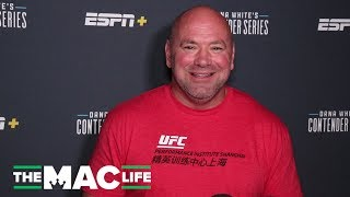 Dana White on Stipe Miocic phone call, prank on Cejudo's sister | Dana White's Contender Series S3E6