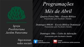 Culto Vespertino - Ao Vivo - 25/04/2021