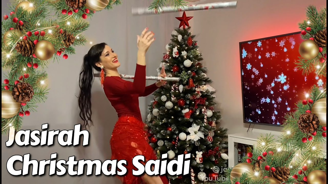 How Jasirah is (not) packing Xmas presents  - Saidi Belly Christmas