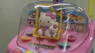 お子様の大好きなキティちゃんの乗用玩具。 後輪の回転を調節できる「走行速度調節機能付き」です。 ☆対象:10カ月~4歳.
