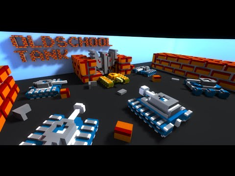 OLDSCHOOL TANK - Танчики в 3D promo rus trailer