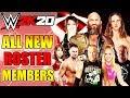 WWE 2K20: ALL NEW ROSTER MEMBER ADDITIONS (NXT UK STARS, NEW WOMEN & LEGENDS + NXT SUPERSTARS)