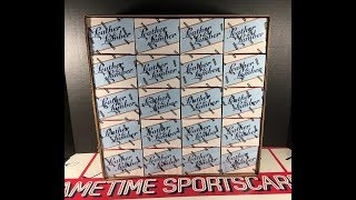 Gambar cover 2019 Leather & Lumber Blaster Case Break - 20 Hits & So Much More!