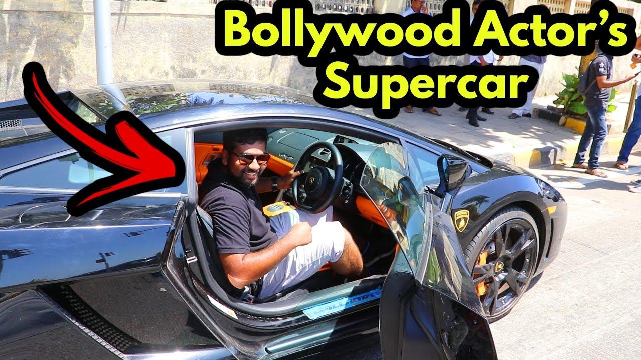 I Sat In John Abraham S Lamborghini Bollywood Celebrity Car