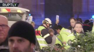 Strasbourg shooting: Paramedics rush to deadly scene, heavy police presence
