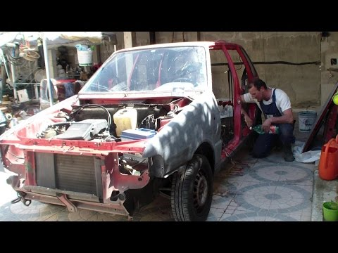 Restauro Fiat Uno 1990 - Restoration Fiat Uno 1990
