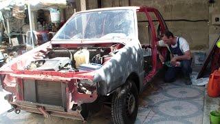 Restauro Fiat uno