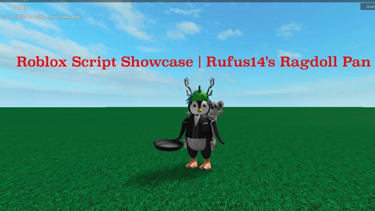 Roblox Script Showcase Rufus14 S Ragdoll Pan Youtube