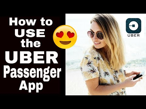 Uber Passenger App-How to Use The Uber App-Step-by-Step Tutorial 2019
