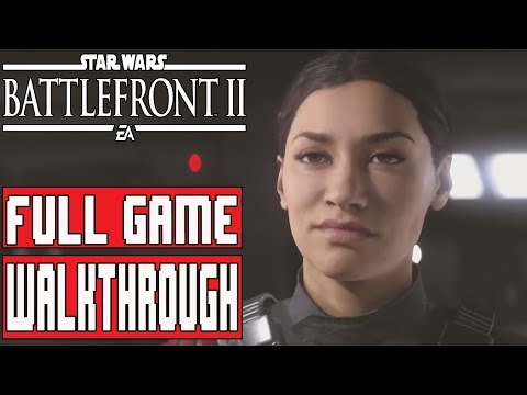 STAR WARS BATTLEFRONT 2 Gameplay Walkthrough Part 1 Full Game - No Commentary