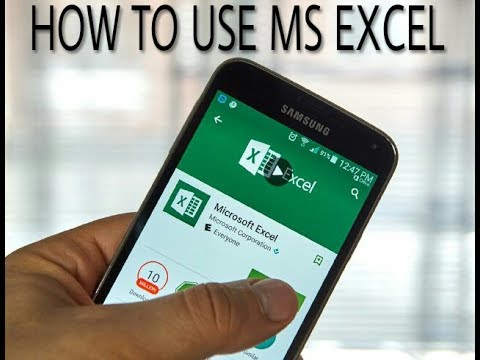 How To Use MS EXCEL In Android Mobile