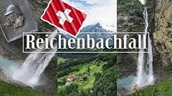 Switzerland | Reichenbachfall - Bahn & Reichenbachfall bei Meiringen