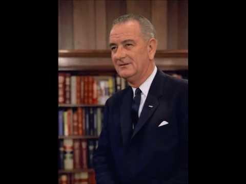 President Lyndon Johnson's speech on signing the Nuclear Non-Proliferation Treaty