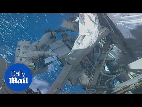 Houston we have a problem! Astronaut leaves SD card back on Earth - Daily Mail