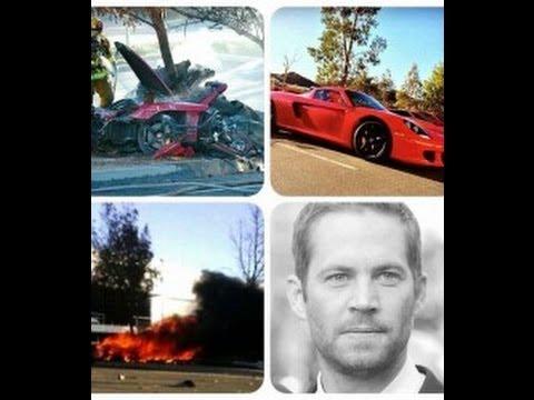 paul walker dramatic car crash youtube. Black Bedroom Furniture Sets. Home Design Ideas