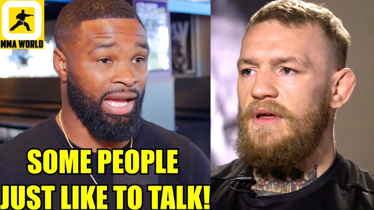Conor McGregor had many opportunities but he never wanted to fight me-Tyron Woodley,Silva,#UFC238