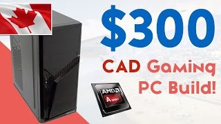 Video $300 CANADA GAMING PC BUILD JULY/AUGUST 2015! [1080P GAMING!] download MP3, 3GP, MP4, WEBM, AVI, FLV Juli 2018