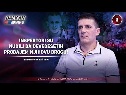 INTERVJU: Zoran Branković - Inspektori su nudili da devedesetih prodajem njihovu drogu! (24.2.2019)